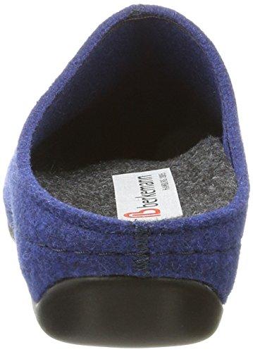 Back Open Mujer Royalblau Berkemann Florina azul zapatillas 312 qU44pt