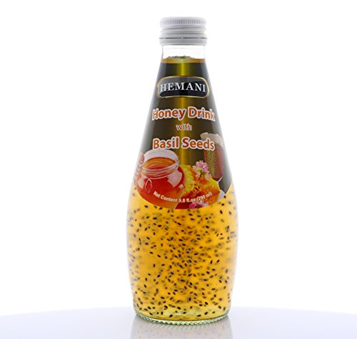 Hemani Herbal Basil Seed Drinks (Many To Choose From) 290mlUS Seller F/S (Honey With Basil)