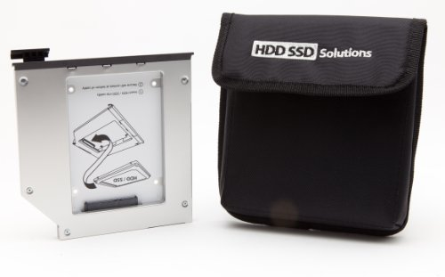 - 2nd Hard Drive Caddy for DELL E6540, E6440 Modular Bay (original Newmodeus caddy)