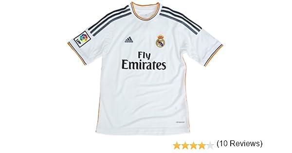 adisas Real Home Jersey Youth - Camiseta de fútbol para niños, talla 176: Amazon.es: Ropa y accesorios