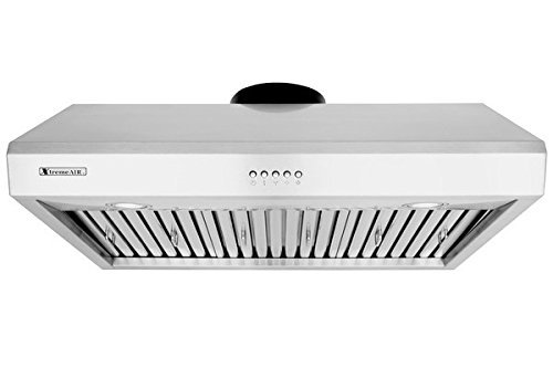 """XtremeAir Ultra Series UL13-U30, 30"""" width, Baffle filters, 3-Speed Mechanical Buttons, Full Seamless, 1.0 mm Non-magnetic S.S, Under cabinet hood"""