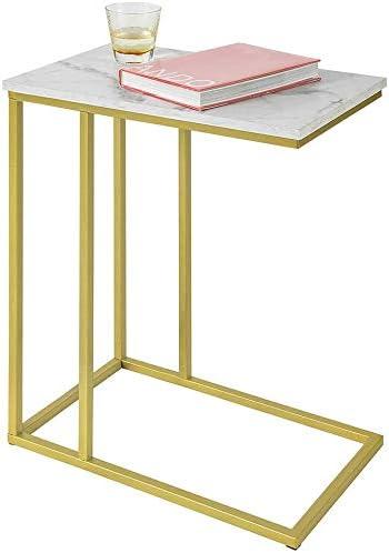 Haotian FBT87-G Side Table End Table Coffee Tea Table
