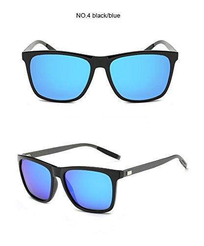 para azul polarizadas de de aluminio TR90 negro Aprigy Gray y Clear hombre sol Gafas t0qZwP