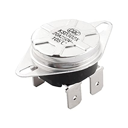 NC Manual I-reset ang KSD302X 105C Temperatura Control Thermostat - - Amazon.com