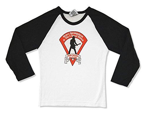 Bruce Springsteen Pacific Bell Park 2003 Juniors Raglan Shirt (M) White