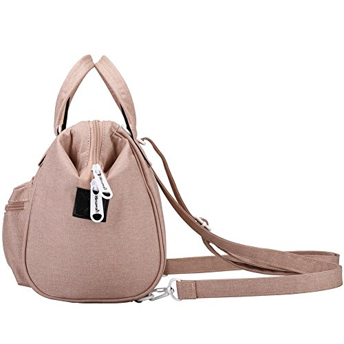 Pink Himawari Soft Handle Canvas With Backpack Handbags Women's Sy Bag Bags Top Tote q7AZr5qw
