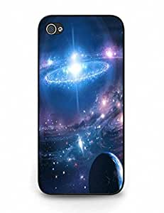 Simple Design Galaxy Print Hard Cover for iPhone 5 5S