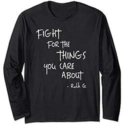 RBG Ruth Gingsburg Supreme Court Feminist LongSleeve T-Shirt