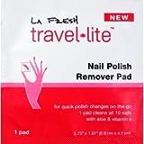 LA Fresh Nail Polish Remover Pad (case of 200) by La Fresh Travel Lite