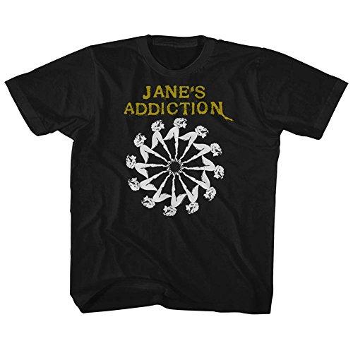 American Classics Janes Addiction Lady Wheel Black Toddler Little Boys T-Shirt Tee