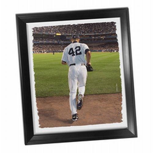 Mariano Rivera Entering Game - New York Yankees Mariano Rivera Entering Game Framed Stretched 22x26 Canvas