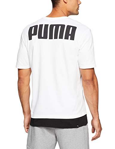 Maglietta Uomo Rebel Bianco Tee Puma BTEAn