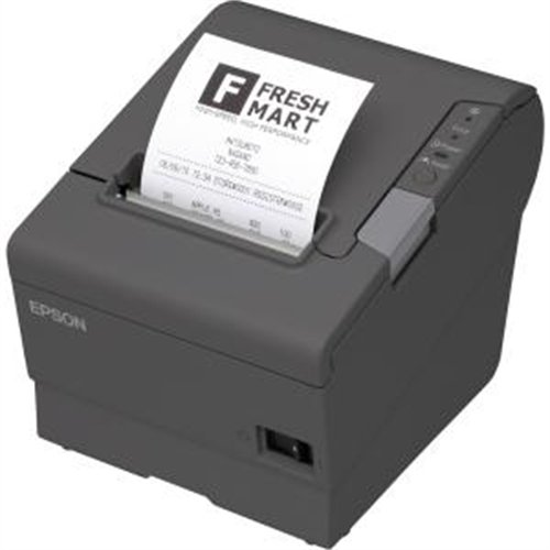 Epson C31CE94A9991 Epson, TM-T88VI, Thermal Receipt Printer, Epson Black, PO211, Ethernet, USB and Parallel Interfaces, Ps-180 Power Supply and Ac Cable ()