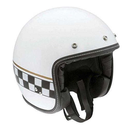 AGV RP60 Cafe Racer White Open Face Helmet, S