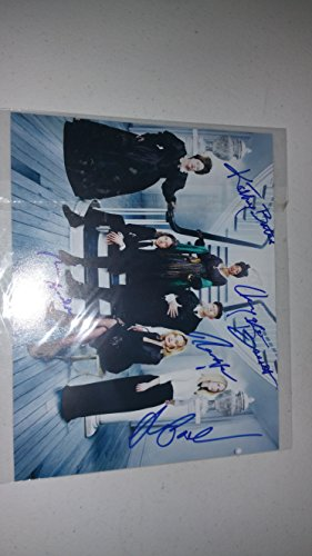 American Horror Story Jessica Lange Kathy Bates 5x Signed 8x10 Photograph in Mint Condition COA PROOF - Jessica Ahs Lange
