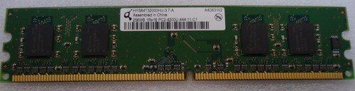 MEMORY HYS64T32000HU-3.7-A 256MB 1RX16 PC2-4200U-444-11-C1
