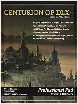 Centurion Deluxe Oil Primed Linen Panel 6-Pack 9x12
