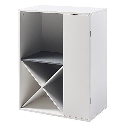 Teamson Cabinet (Versanora VNF-00038 Barra Storage, White)