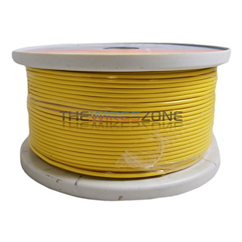 Yellow 18 Gauge AWG 500