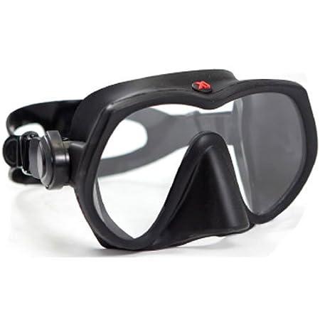 XS Scuba Crew Mask (Black Silicone)