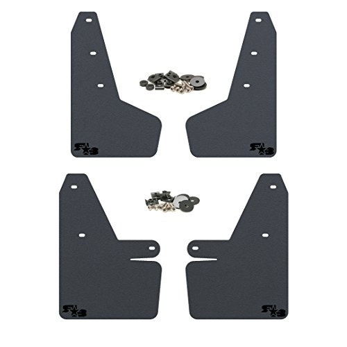 Rokblokz Mud Flaps For 2018 Subaru Crosstrek Multiple Colors Available Mud Guards Are Custom Cut And Fit Includes All Mounting Hardware Black With Black Logo