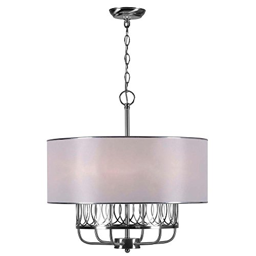 World Imports Lighting 9077-37 Venn 6-Light Chandelier