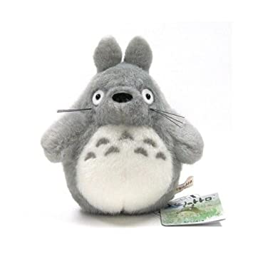 Amazon.com  Large dark gray Totoro My Neighbor Totoro Plush Doll  Toys    Games e7bcd94d27fc