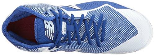 New Balance Herren PM4040v4 geformte Baseball-Schuh Royal / Weiß