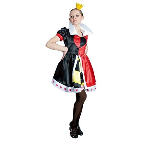 Disney Alice in Wonderland -- Queen of Hearts -- Women's (Disney Alice In Wonderland Queen Of Hearts Costume)