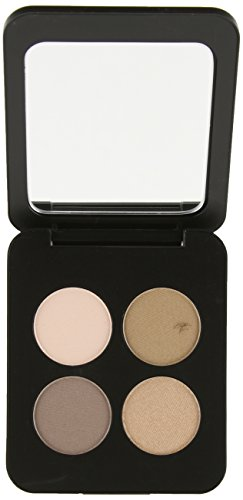 YOUNGBLOOD Pressed Mineral Eyeshadow Quad - Color Timeless ()
