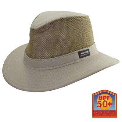 - Panama Jack Men's Mesh Safari Hat L Khaki