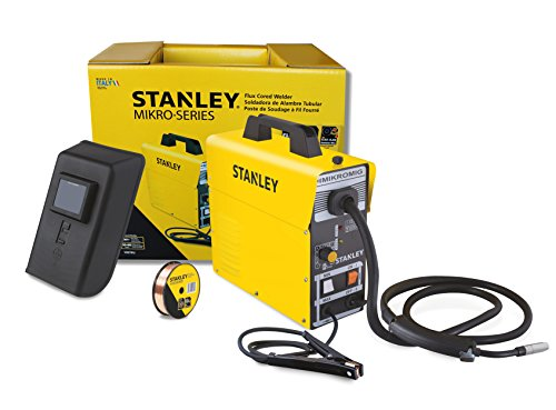 Stanley MIKROMIG 120-volt 80-Amp Flux-Cored Welder, 14.4 x 5.5 x 14.2-Inch, Yellow (Miller Welder 120 Volt)