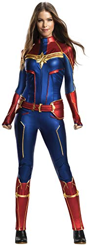 Rubie's Women's Captain Marvel Adult Grand Heritage Costume, Color As Shown, Extra-Small