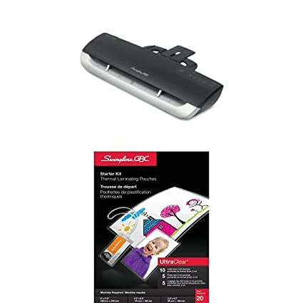Swingline GBC Fusion 1100L 9-Inch Laminator, 4 Minute Warm-up, 3 Mil to 5 Mil pouches (3381650026) Kensington 1703074