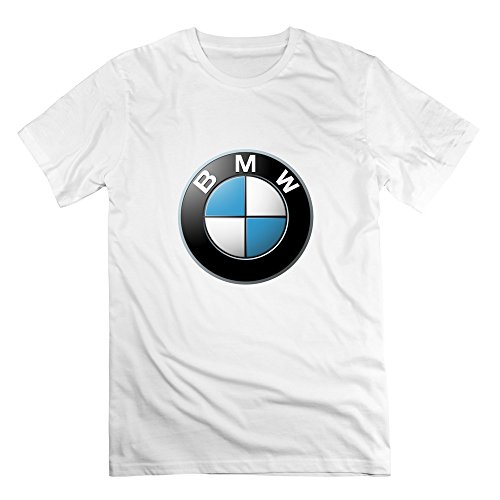 FZLB Men's BMW Logo T-Shirt X-Small White