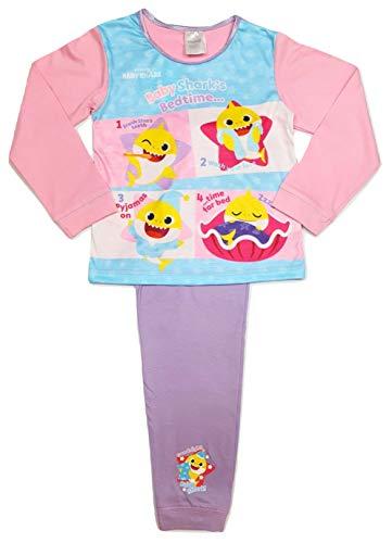 Meisjes Baby Shark Pyjama Karakter Nachtkleding