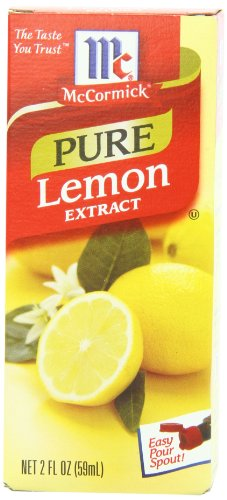 McCormick Pure Lemon Extract, 2 oz. (Lemon Pure Extract compare prices)