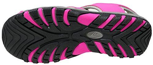 Sandalen Art Gummizugband mit mit gibra Pink 1937 36 Schwarz Schwarz Stopper Trekkingsandalen Damen Gr Pink 41 pwxqWqFIE