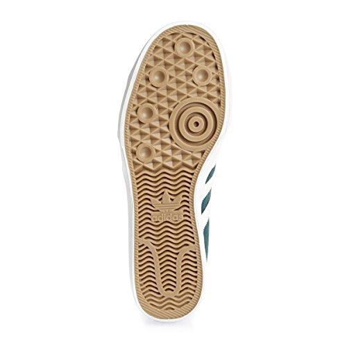 Adidas Orignals Matchcourt Midten Herre Trænere Sneakers (uk 8 Os 8,5 Eu 42, Grøn Hvid Bb8572)