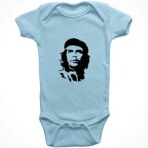 Stickerslug Che Guevara Onesie Baby Clothes Jumper (Light Blue, 24 Month) b11178