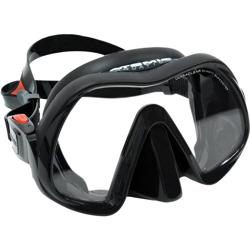 Atomic Aquatics Venom Frameless Mask Black