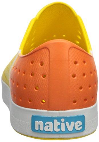 factory outlet cheap online native Men's Jefferson Water Shoe Crayon Yellow/Shell White/Gradient Block buy cheap footlocker order for sale Lp1ZRFv