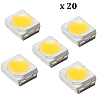 Quickbuying 100PCS LED Backlight 1210 3528 2835 1W 100LM Cool white LCD Backlight for TV TV Application Led DIY EL Products