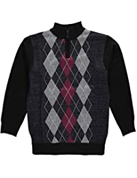 """American Legend Outfitters Big Boys' """"Homeroom"""" Zip-Up Sweater"""