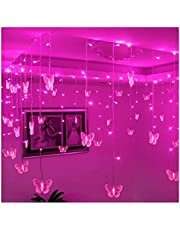 16 Led Butterfly Strings 8 Mode Fairy Light Strip, Perfect voor Kamer Tuin Muur Kerst Bruiloft Indoor/Outdoor Party Decoration