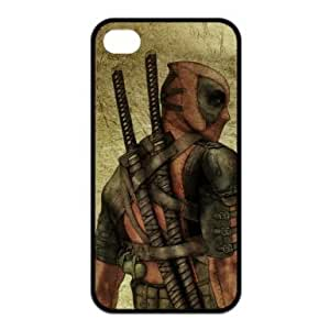 longenology Superhero Deadpool Cool Case for Iphone 4/4S