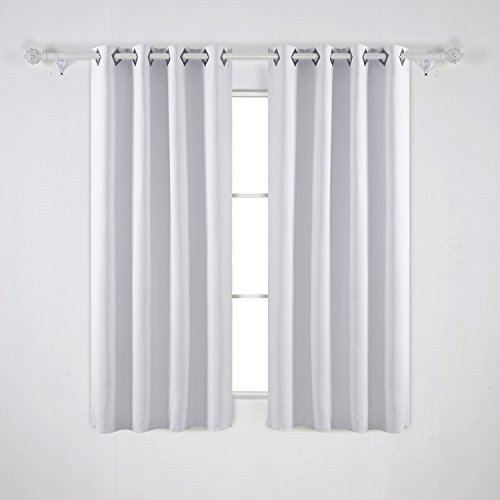 Curtains Ideas buy insulated curtains : Deconovo Solid Color Blackout Curtains Room Darkening Curtains ...