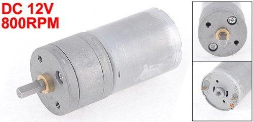 eDealMax 12VDC 800 rpm eléctrico de gran alcance del esfuerzo de torsión de caja de cambios Caja de engranajes del motor - - Amazon.com