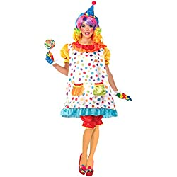 Forum Novelties Women's Wiggles The Clown Costume, Multi, Standard