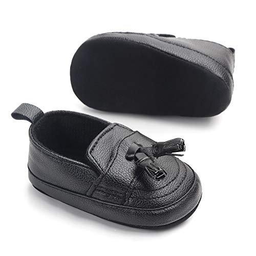 Csfry Infant Toddler Baby Boys Soft Moccasinss Crib Shoes - Classic Crib Shoes